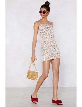 Say A Little Square Floral Dress by Nasty Gal