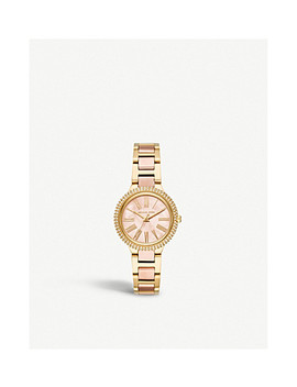 Mk6564 Taryn Two Tone Stainless Steel And Mother Of Pearl Watch by Michael Kors