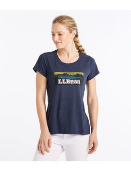Back Cove Graphic Tee by L.L.Bean