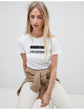 Dr Denim Luna Logo T Shirt by Dr Denim