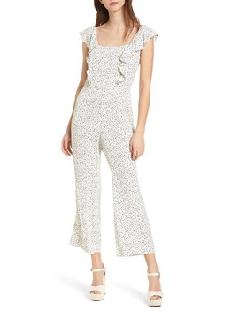 Ruffle Front Crop Jumpsuit by Leith