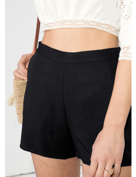 High Waisted Shorts by & Other Stories