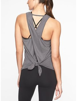 Essence Texture Tie Back Tank by Athleta