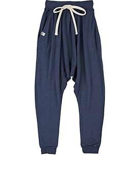 Plato Cotton Blend Jersey Harem Pants by Lennon + Wolfe