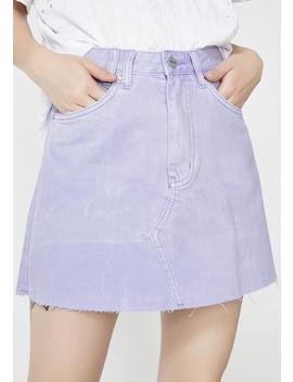 Slater Purple Sasha A Line Skirt by Insight