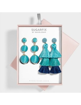 Sugarfix By Bauble Bar Statement Earring Gift Set by Sugar Fix By Bauble Bar