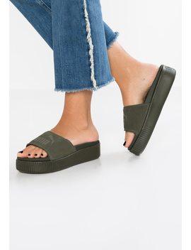 Platform Slide Bold   Slippers by Puma