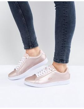 Lacoste Carnaby Evo 118 7 Pink Metallic by Lacoste