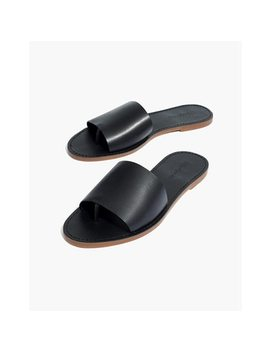 The Boardwalk Post Slide Sandal by Madewell