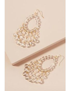 Beaded Chandelier Earrings by Anthropologie