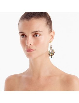 Bead And Stone Earrings by J.Crew