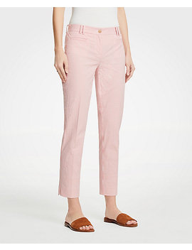 The Crop Pant In Seersucker by Ann Taylor