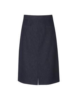 Reene Denim Cotton Skirt by L.K.Bennett