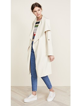 Ornella Draped Coat by Soia & Kyo