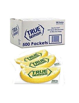 True Lemon Bulk Pack, 500 Count With 5 Free True Lemon Variety Lemonade Sample Sticks by True Citrus