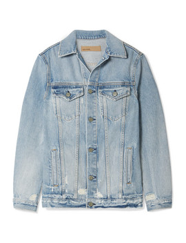 Daria Distressed Denim Jacket by Grlfrnd