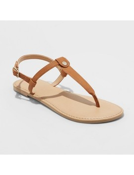 Girls' Odette Thong Sandals   Cat & Jack™ by Cat & Jack™