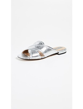 Aurora Flat Sandals by Marc Jacobs