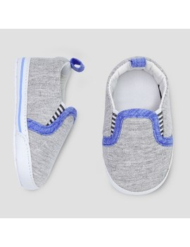 Baby Boys' Slip On Sneaker   Just One You® Made By Carter's Heather Gray 0 3 M by Just One You Made By Carter's