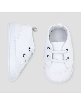 Baby Boys' Low Top Sneaker   Just One You® Made By Carter's White 3 6 M by Just One You Made By Carter's