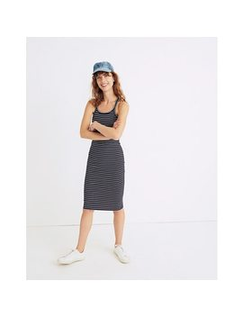 Striped Racerback Midi Dress by Madewell