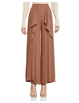 Jackee Ruffled Wide Leg Pants by Bcbgmaxazria