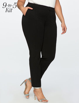 9 To 5 Stretch Work Pant by Eloquii