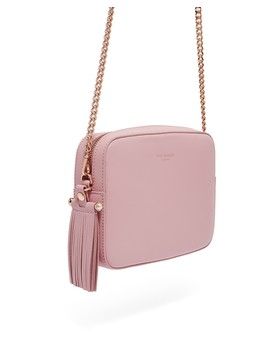 Alessia Faux Pearl Leather Camera Bag by Ted Baker