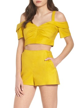 Cold Shoulder Crop Top by Leith