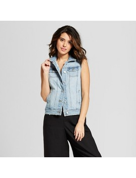 Women's Denim Vest   Universal Thread™ Light Wash by Universal Thread™