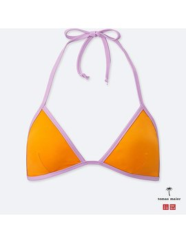 Women Swim Triangle Bra by Uniqlo