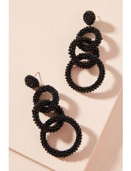 Lyla Beaded Drop Earrings by Anthropologie