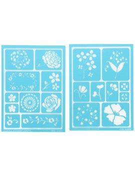 Martha Stewart Crafts Adhesive Stencils (5.75 By 7.75 Inch), 32269 19 Blossoms Designs by Martha Stewart Crafts