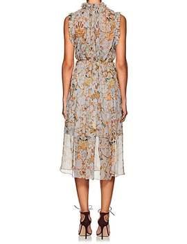 Silk Midi Dress by Zimmermann
