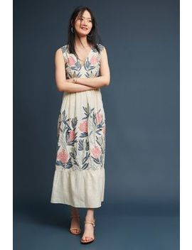 Florence Embroidered Maxi Dress by Grassroot By Anita Dongre