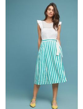 Market Wrap Skirt by Maeve