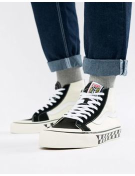 Vans Sk8 Hi 138 Decon Sf Trainers In Black Va3 Mv1 R34 by Vans