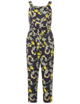Petite Navy Floral Jumpsuit by Dorothy Perkins