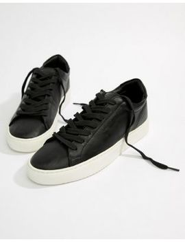 Good For Nothing Logo Trainers In Black by Good For Nothing