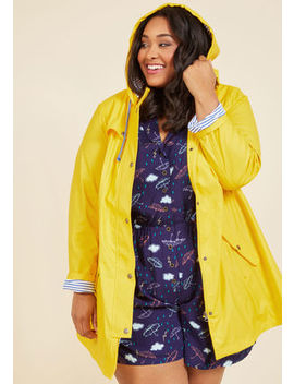 At All Showers Raincoat In 1 X At All Showers Raincoat In 1 X by Modcloth