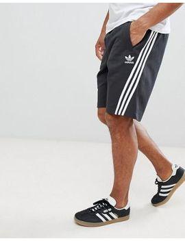 Adidas Originals – Nova – Shorts Mit Nadelstreifen In Schwarz Ce4850 by Adidas Originals