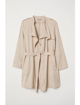 H&M+ Short Lyocell Trenchcoat by H&M