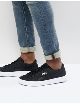Puma Breaker Suede Trainers In Black 36607701 by Puma