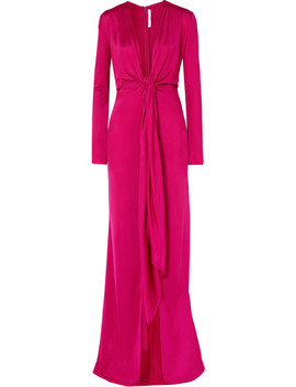 knotted-stretch-jersey-gown by givenchy