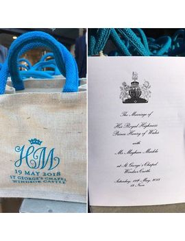 Royal Wedding Official Gift/ Goody Bag Windsor Guests 2018 by Ebay Seller