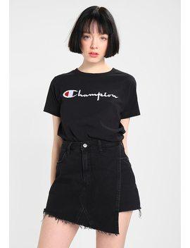 Classic Big Logo   T Shirt Print by Champion Reverse Weave