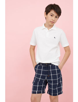 Shorts With A Belt by H&M