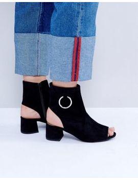 Public Desire Space Cut Out Boots by Public Desire