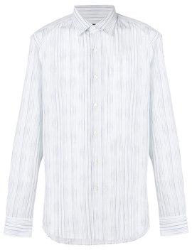 Faded Stripe Pattern Shirthome Men Clothing Shirts by Salvatore Ferragamo