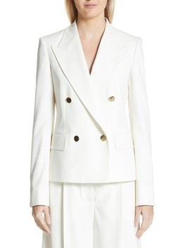 Summer Twill Double Breasted Blazer by Stella Mccartney